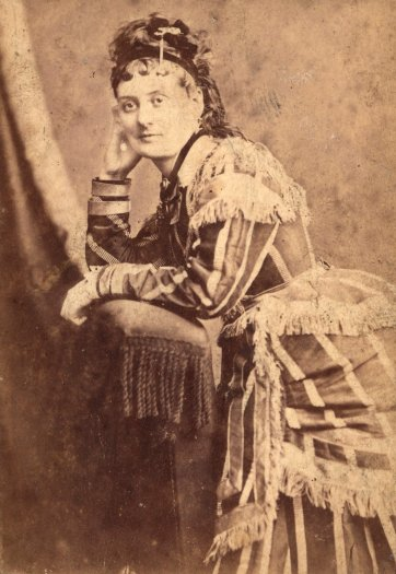 Hattie Sheppard, c. 1870 by Timothy Noble