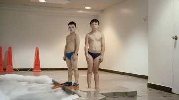 Cormac and Callum, 2008 by Ingvar Kenne