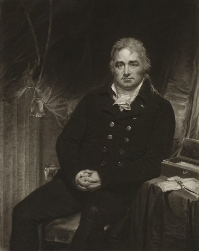 Robert Hobart, 4th Earl of Buckinghamshire, 1806 by William Whiston Barney, after Sir William Beechey