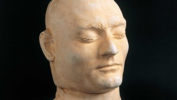 Ned Kelly death mask, date unknown an unknown artist after Maximilian Kreitmayer