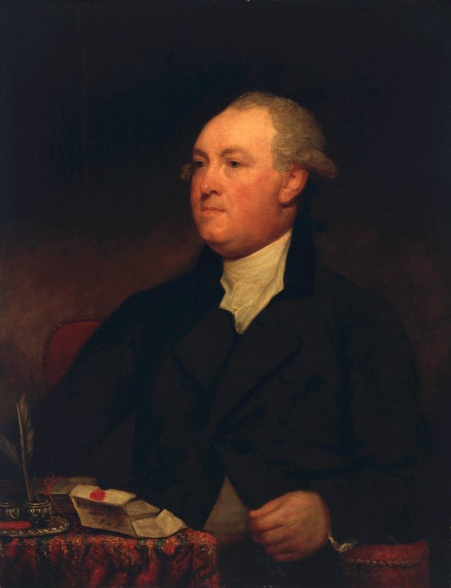 Thomas Townshend, 1st Viscount Sydney, ca. 1785 attributed to Gilbert Stuart