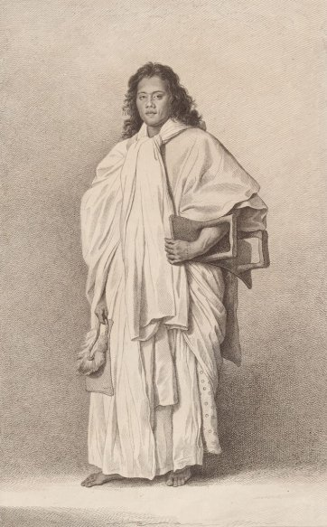 Omai, A Native of Ulaietea, 1774 by Nathaniel Dance, Francesco Bartolozzi