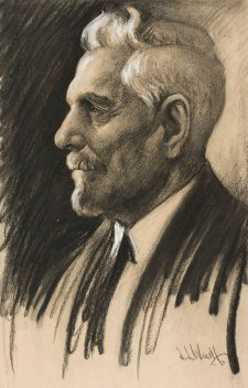 Sir Sidney Kidman, 1932 by Samuel Woolf