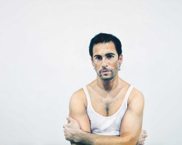 Portrait of Alex Dimitriades, 2005 Michael Zavros