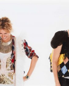 Portrait of Heidi Middleton and Sarah-Jane Clarke (Sass & Bide), 2008 Deborah Paauwe