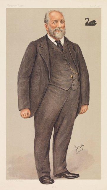 """W.A"" (Sir John Forrest) (Image plate from Vanity Fair), 1897 Julius Mendes Price"