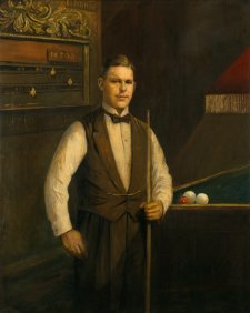 Walter Lindrum OBE, c. 1932 Will Longstaff