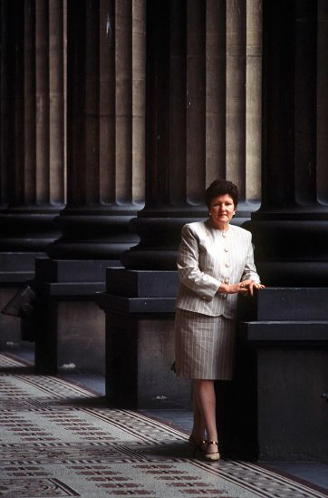 Joan Kirner, c. 1990 Rennie Ellis