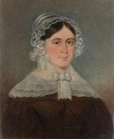 Sarah Tuckfield, c. 1854 by an unknown artist