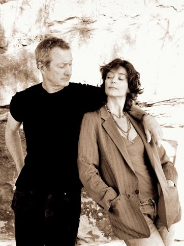 Rachel Ward and Bryan Brown, 2006 (printed 2020) Peter Brew-Bevan