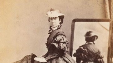 Lady Barkly, 1863 by Batchelder & O'Neill