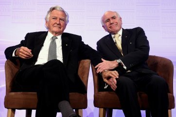 Former prime ministers of Australia, 2014 by Alex Ellinghausen