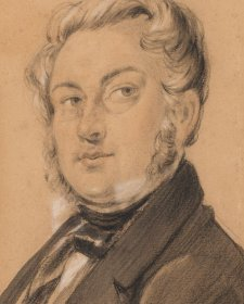 Self portrait, c. 1849 Charles Rodius
