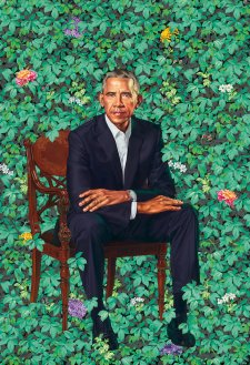 Barack Obama, 2018 by Kehinde Wiley