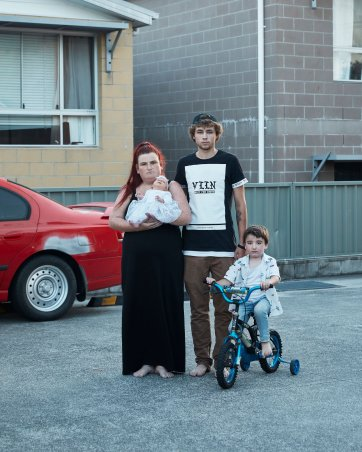 My Brother's family, 2018 by Joel Pratley