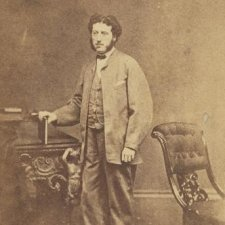 Henry Louis Bertrand, ca. 1865 photographed by the Milligan Brothers. Collection of the State Library of NSW