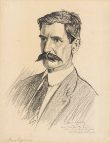 Henry Lawson, c. 1919 by Lionel Lindsay
