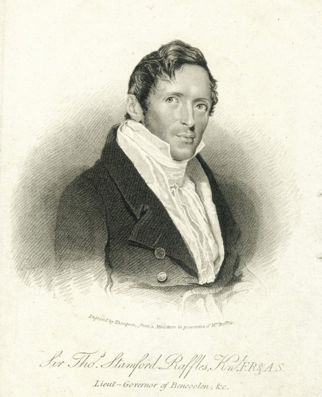 Sir Thomas Stamford Bingley Raffles, 1824 by James Thomson