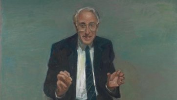 Portrait of Professor Graeme Clark, 2000 Peter Wegner