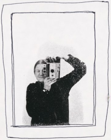 Self portrait, n.d. (early 1980s) by Bea Maddock