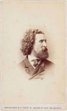 Charles Summers, (late 1860s) by Batchelder & Co. Photo