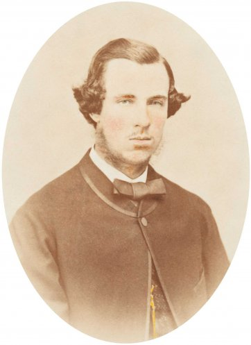 Egbert Spencer Wills, c.1870 by Wilmot & Key