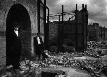 Peter Tucker and Alex Cramb, abandoned brickworks, Princes Highway, St Peters, Sydney, 1981 Stuart Spence