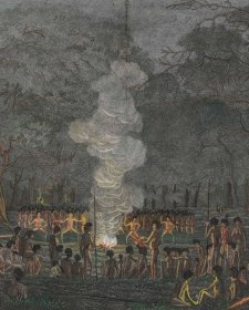 Corroboree, or Dance of the Natives of New South Wales, 1820 Walter Preston