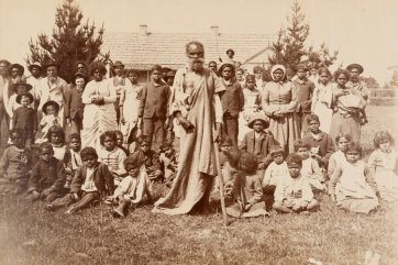 John Bulmer and the Aboriginal community of Lake Tyers, Gippsland, c. 1890 by Unknown