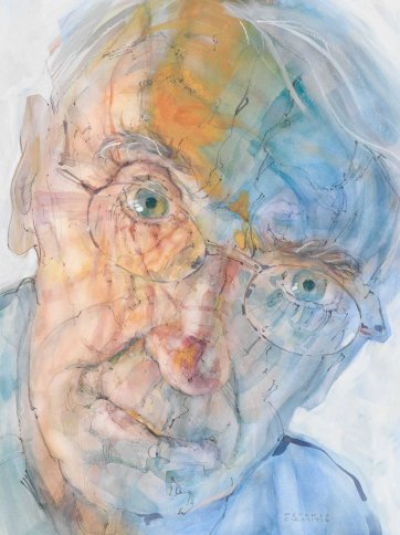 Making Sense of Place #4 (Portrait of Professor George Seddon), 2007 Peteris Ciemitis