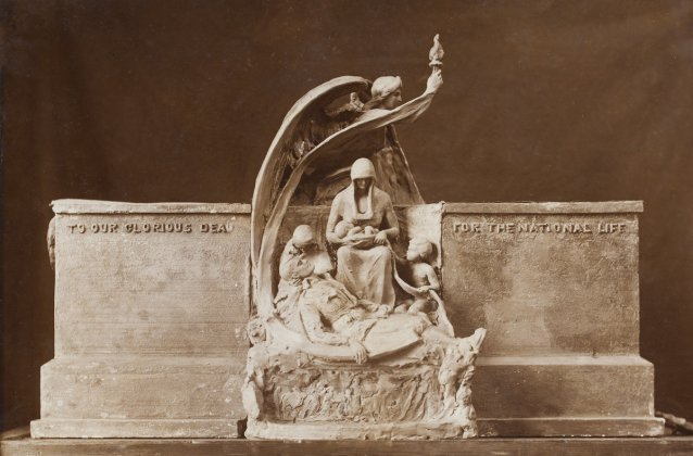 To our glorious dead for the national life (proposed memorial) by Theodora Cowan