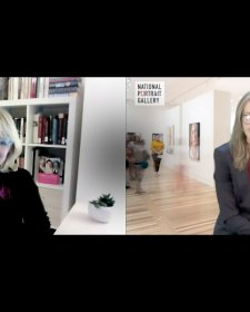 Karen Quinlan and Kim Sajet video: 33 minutes