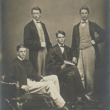 Percy, Reginald, Monty and George Faithfull, undated by Henry Dorner. Image courtesy the National Museum of Australia.