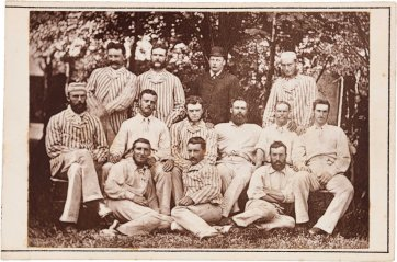 The first Australian first-class cricket team to tour England and North America, 1878 by A. & G. Taylor