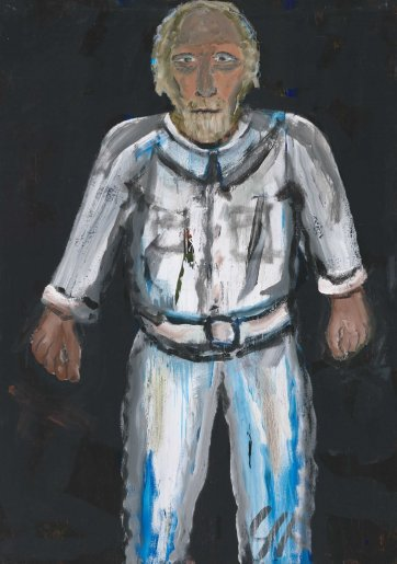 """The determined"" Self_portrait, 2002 George Foxhill"