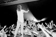 Michael Hutchence, INXS, 1984 Bob King