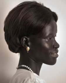 Face of South Sudan, 2012 by Melanie Faith Dove