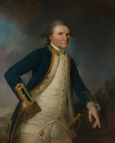 Portrait of Captain James Cook RN, 1782 John Webber