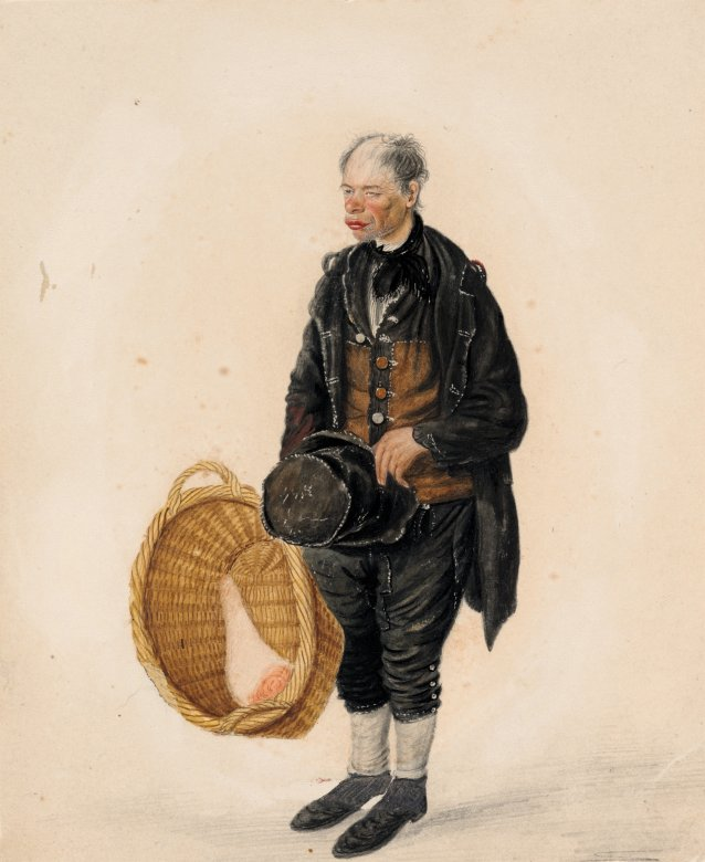 Billy Bean, Butchers' carrier, Scarborough, 1825