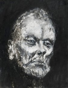 Study for John Bell as King Lear, 1998-2001 by Nicholas Harding
