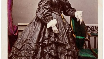 Lucy Escott, (early 1860s) by Dalton's Royal Photographic Gallery