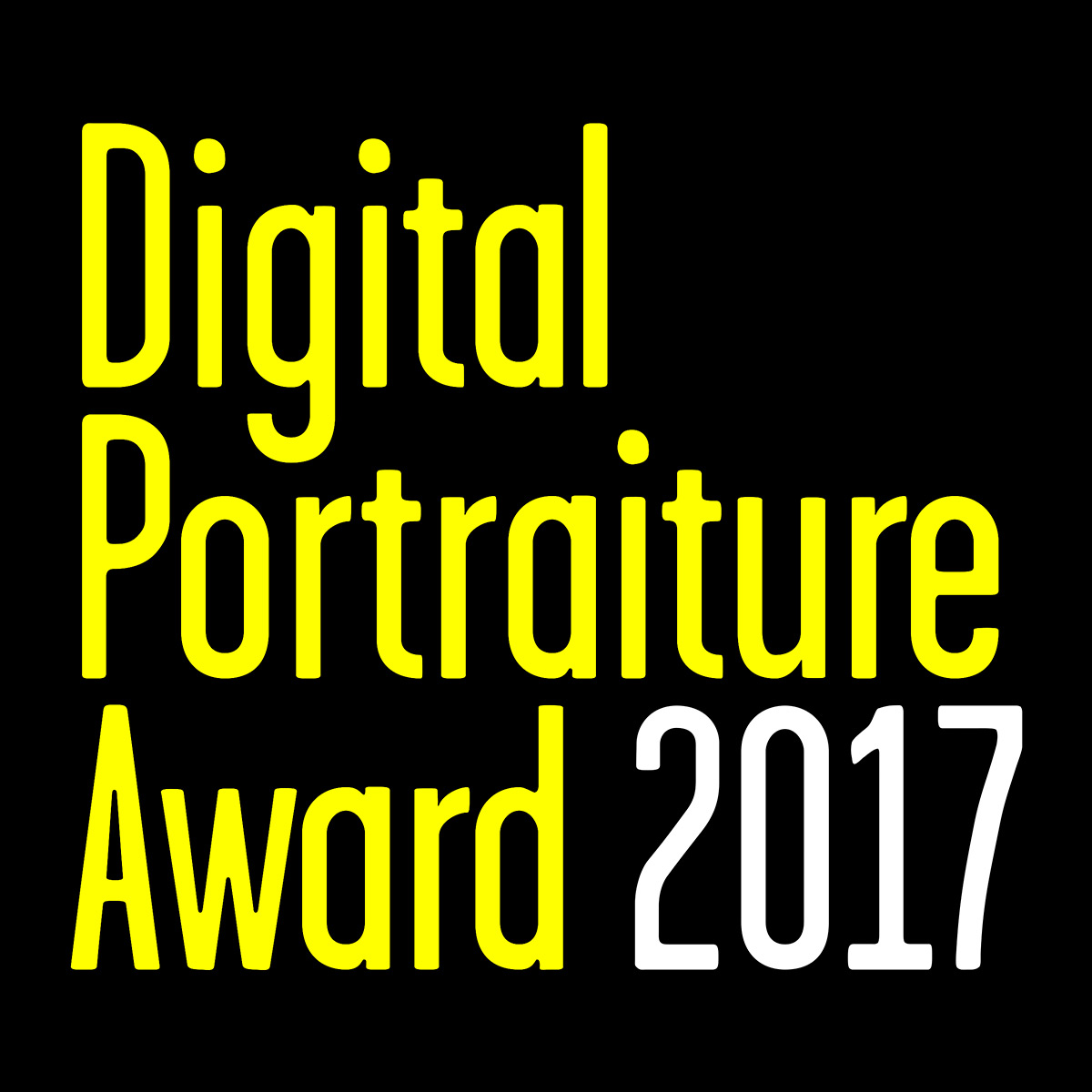 Digital Portraiture Award 2017