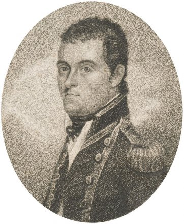 Captain Matthew Flinders RN, 1814 by an unknown artist, Joyce Gold Naval Chronicle Office