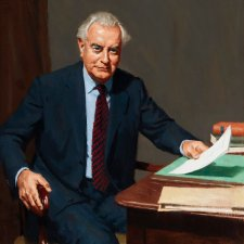 The Hon E.G. Whitlam AC QC, 1980 by Graeme Inson