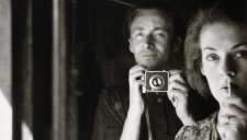 In the mirror: self portrait with Joy Hester (detail), 1939  Albert Tucker