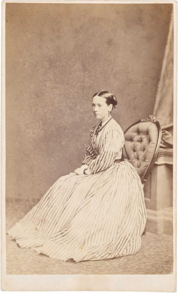 Martha Mary Robertson, 1866 by Johnstone O'Shannessy & Co