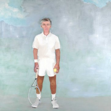 The tennis player (Ken Rosewall), 2010 Sinead Davies