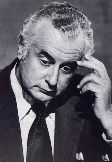 Gough Whitlam, 1975 (printed 2010) Bill McAuley
