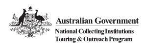 Australian Government National Collecting Institutions Touring and Outreach Program logo